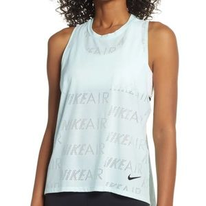 Women's Nike Air Perforated Training Tank, L NWT